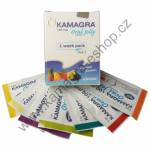 Kamagra Oral jelly originál 100mg 1 sáček