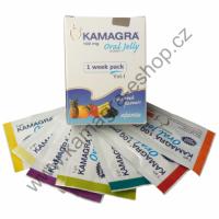 Kamagra Oral jelly originál 100mg 1balení 7 sáčků