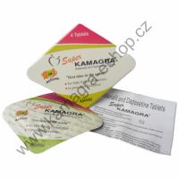 Superkamagra originál 2 balení 8 tablet 160mg