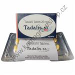 Tadalis 1 balení 4 tablety 20mg