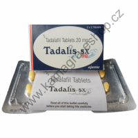 Tadalis 2 balení 8 tablet 20mg