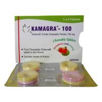 Kamagra POLO originál 5 balení 20 bonbonů 100mg